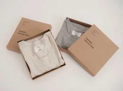 جعبه بسته بندی پوشاک