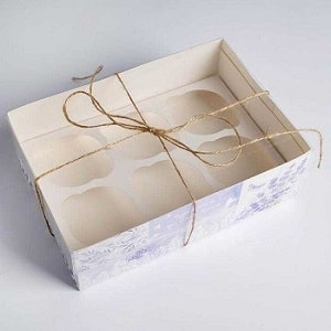 تولید جعبه کاپ کیک فانتزی