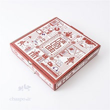 چاپ و تولید جعبه پیتزا خانواده