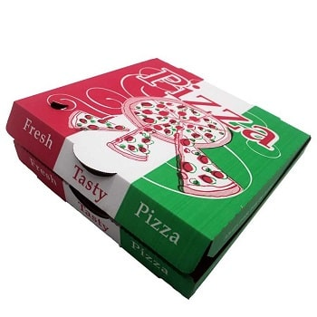 تولید جعبه پیتزا با چاپ