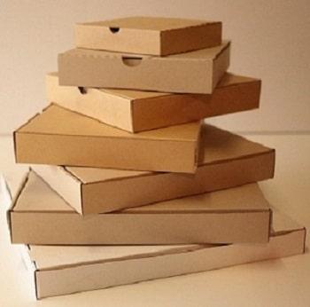 جعبه پیتزا خام