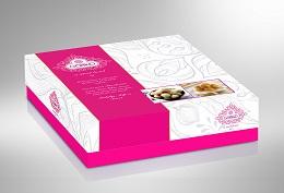 جعبه شیرینی فانتزی ارزان